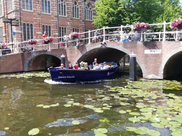 Rondvaart Leiden - Columbus Watersport